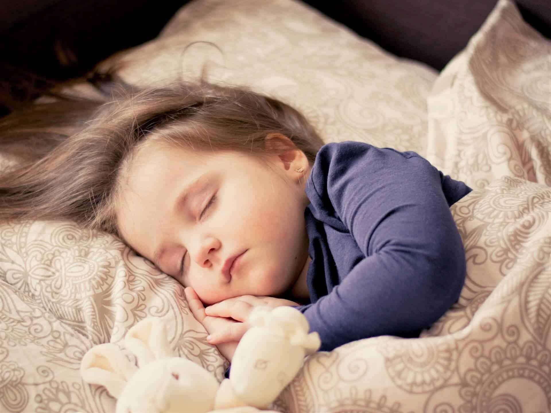 Niña dormida